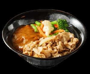 咖哩豚肉丼